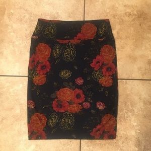 Floral LuLaRoe Cassie Skirt